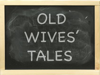 Old Wives' Tales Chalkboard