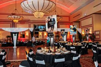 Bar Mitzvah hollywood party theme