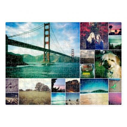 Shutterfly photo collage squares puzzle