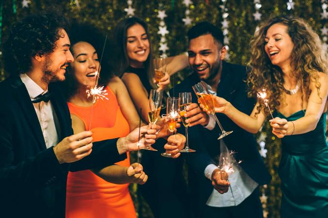 Image result for new years eve party toast