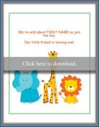 animal invitation