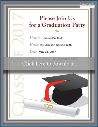 2017 college graduation party