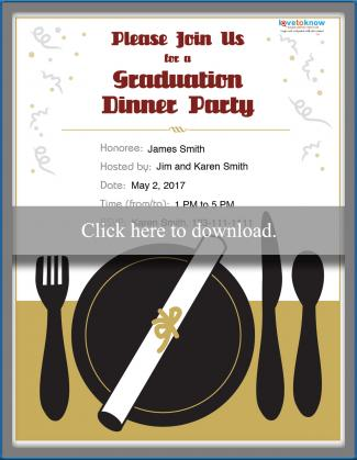 college graduation party invitation options lovetoknow