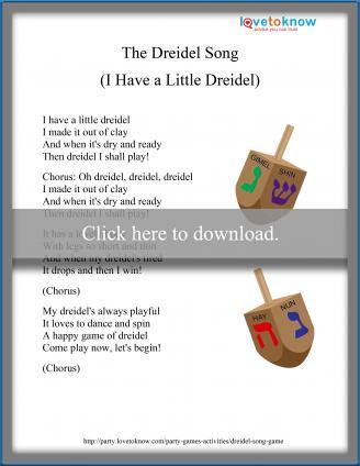 Dreidel song