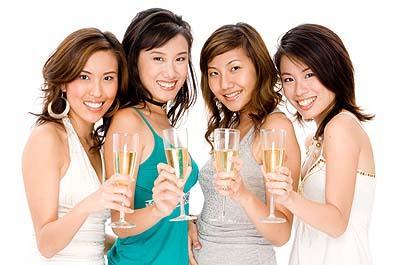 Bachelorette party girls