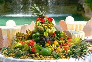Tropical Party Fruit Buffet