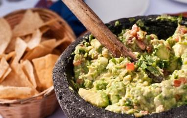 Guacamole is great food for Cinco de Mayo