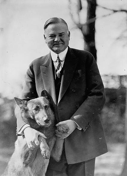 Herbert Hoover y el Rey Tut