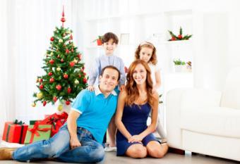 Christmas Portrait Background Ideas