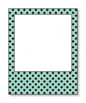 Polka Dotted Polaroid