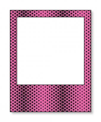 Dark Pink Polaroid