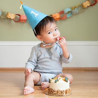 Baby's First Birthday Photo Ideas