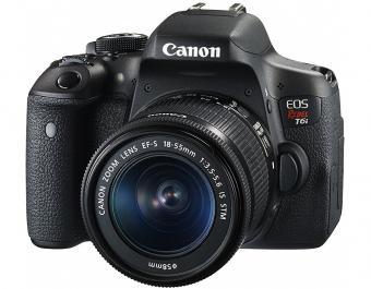 Canon EOS Rebel T6i Digital SLR