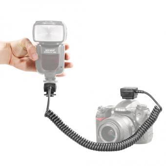 Neewer 9.8 feet/3 m i-TTL Off Camera Flash Speedlite Cord for Nikon