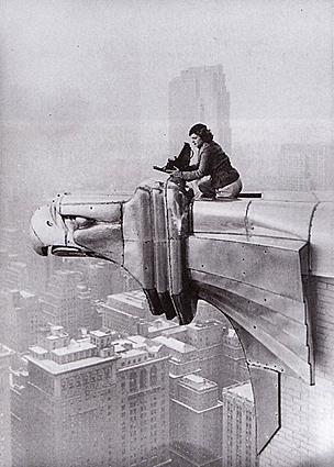 Margaret Bourke-White atop the Chrysler Building