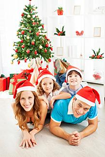 Family Christmas Portrait Ideas