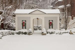 Home in the snow