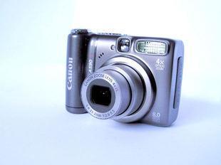 Canon makes good, inexpensive digital cameras.