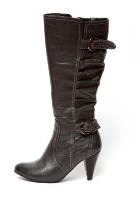 belted dress boot