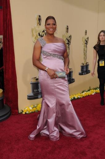 Queen Latifah in evening dress. Bob Charlotte / PR Photos