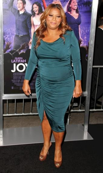 Ruched emerald dress