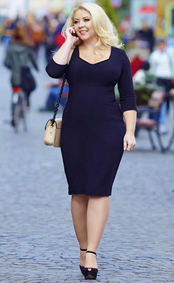 How to Buy Plus Size Winter Dresses
