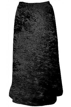 Sanctuarie Designs Crushed Stretch Velvet Skirt