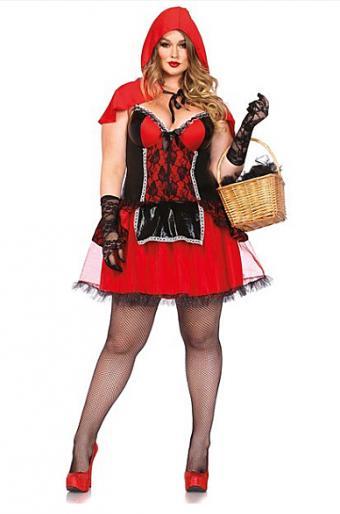 Curvy Red Riding Hood