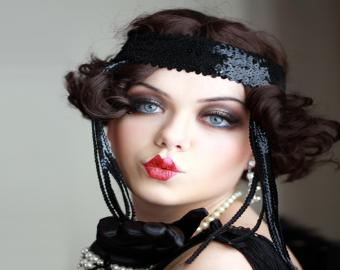 Flapper style costume