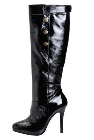 Black Plus Size Lingerie Boots