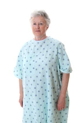 plus size hospital gown