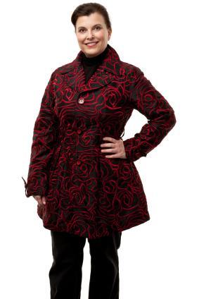 cute tall women's coat