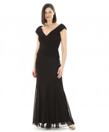 Alex Evenings Black Tie Gown from Amazon.com