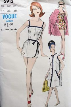 Vogue swimwear pattern