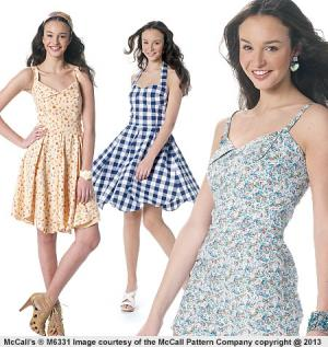 Misses' Romper and Dresses from McCall's