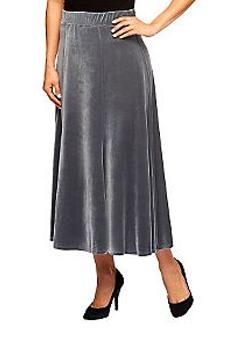 Velvet Skirt from QVC