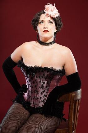 plus size burlesque