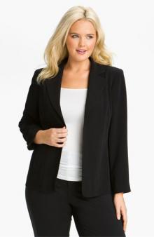 Louben Seamed Jacket Plus Size
