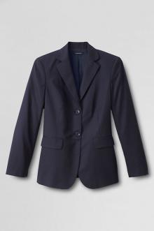 Women's Plus Size 2-button Gabardine Blazer from Land's End
