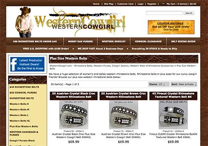 Westerncowgirl.com website