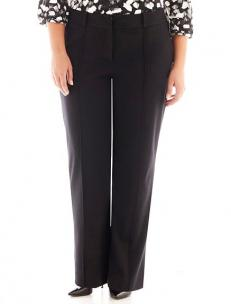 Liz Claiborne trouser leg knit pants
