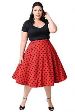 Rockabilly Retro Swing Dress