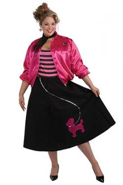 poodle skirt costume