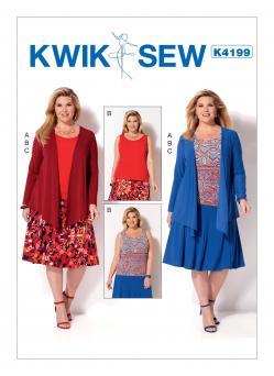 Kwik Sew K4199 Top, Skirt, and Jacket