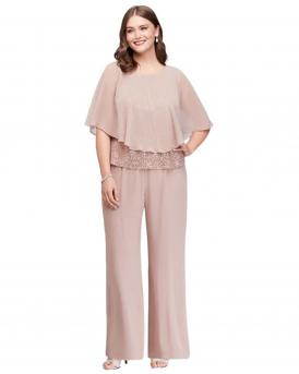 Plus Size Dressy Pant Suits for Weddings