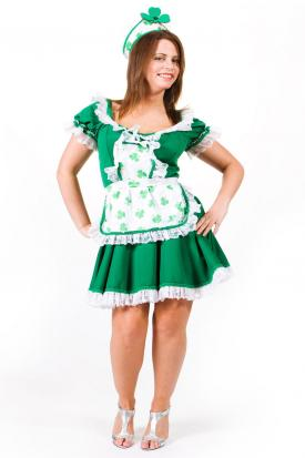 DIY leprechaun costume