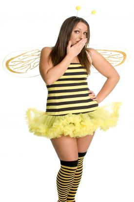 DIY bumblebee costume