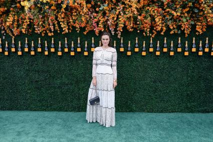 Myla Dalbesio at Veuve Clicquot Polo Classic