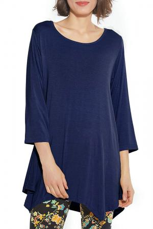 BELAROI Women's 3/4 Sleeve Swing Tunic