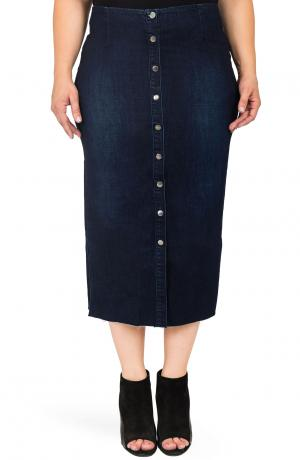 Elain Denim Pencil Skirt